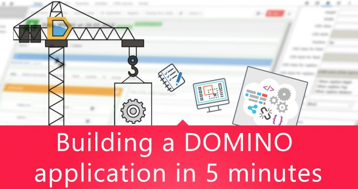 Building a DOMINO application in 5 minutes