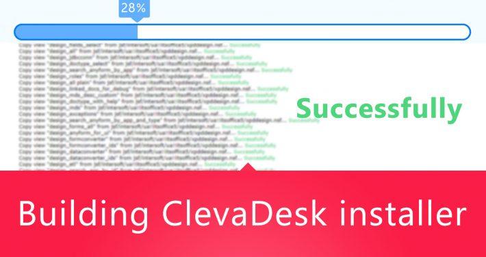 Building ClevaDesk installer