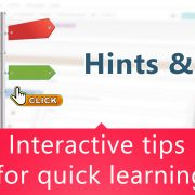 interactive tips for quick learning.